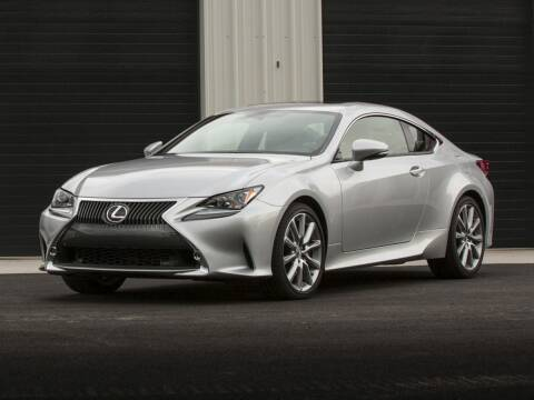2017 Lexus RC 350 for sale at BASNEY HONDA in Mishawaka IN