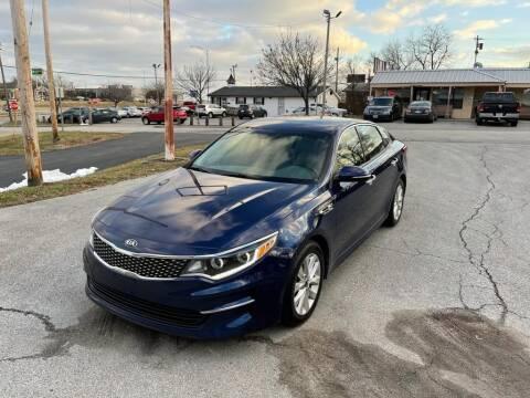 2016 Kia Optima for sale at Auto Hub in Grandview MO