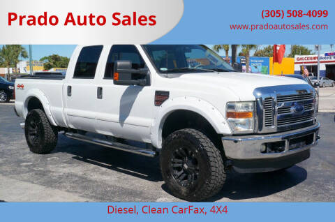2008 Ford F-250 Super Duty for sale at Prado Auto Sales in Miami FL