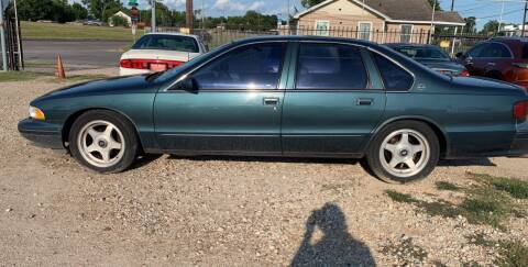 1995 Chevrolet Caprice for sale at FAIR DEAL AUTO SALES INC in Houston TX