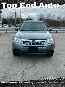 2012 Subaru Forester for sale at Top End Auto in North Atteboro MA