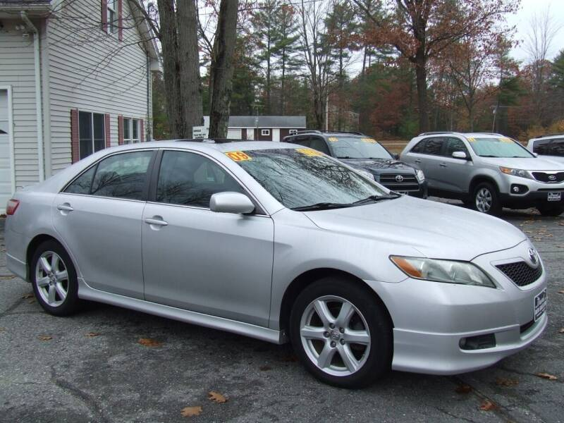 2009 Toyota Camry for sale at DUVAL AUTO SALES in Turner ME