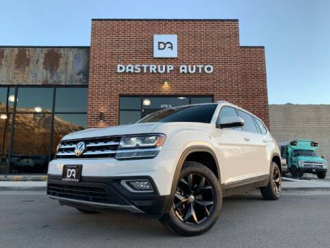 2018 Volkswagen Atlas for sale at Dastrup Auto in Lindon UT