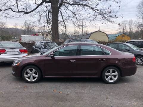 2013 Volkswagen Passat for sale at 22nd ST Motors in Quakertown PA