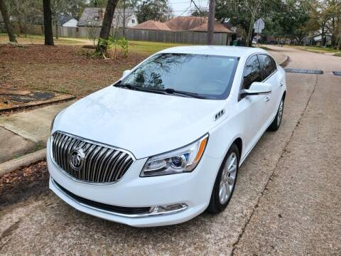 2016 Buick LaCrosse for sale at Amazon Autos in Houston TX