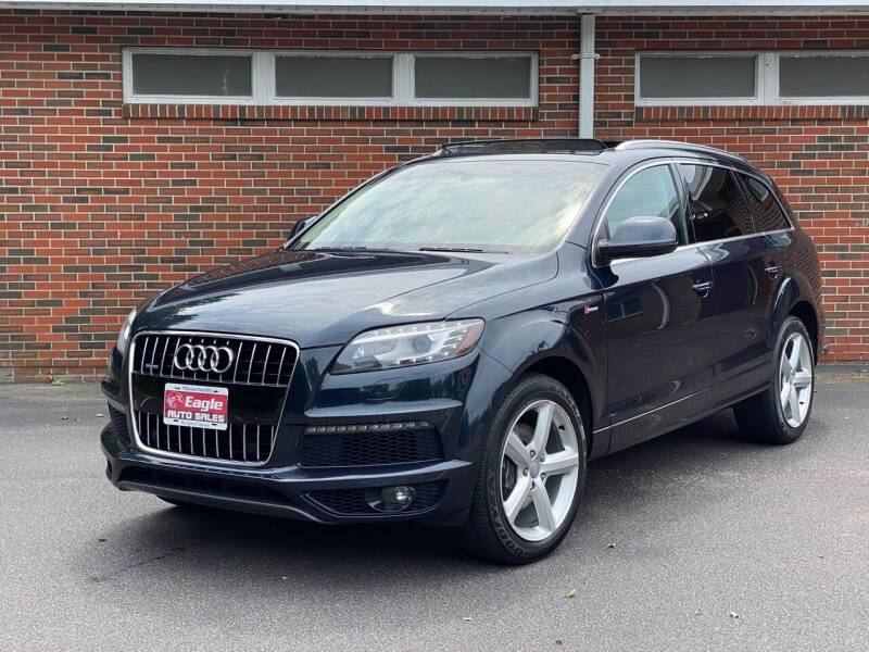 2011 Audi Q7 for sale at Eagle Auto Sales LLC in Holbrook MA