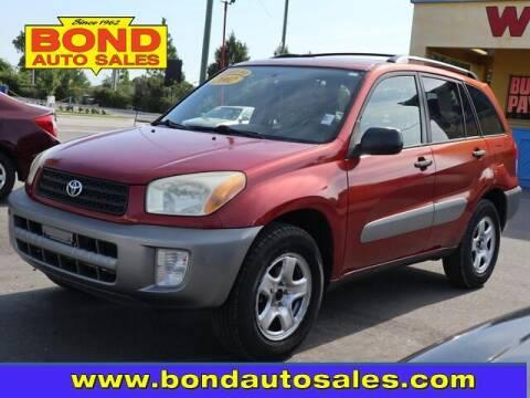 2002 Toyota RAV4 for sale at Bond Auto Sales in Saint Petersburg FL
