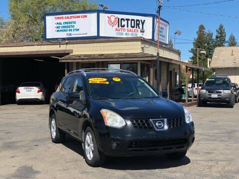 2008 Nissan Rogue for sale at Victory Auto Sales in Stockton CA