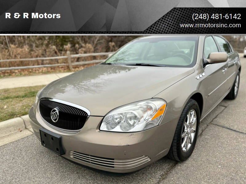2006 Buick Lucerne for sale at R & R Motors in Waterford MI