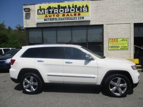 2011 Jeep Grand Cherokee for sale at Metropolis Auto Sales in Pelham NH