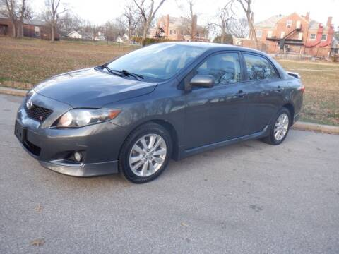 2010 Toyota Corolla for sale at RENNSPORT Kansas City in Kansas City MO