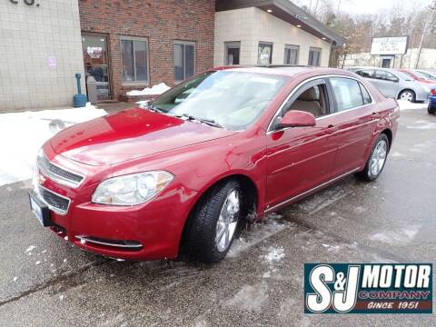 2010 Chevrolet Malibu for sale at S & J Motor Co Inc. in Merrimack NH