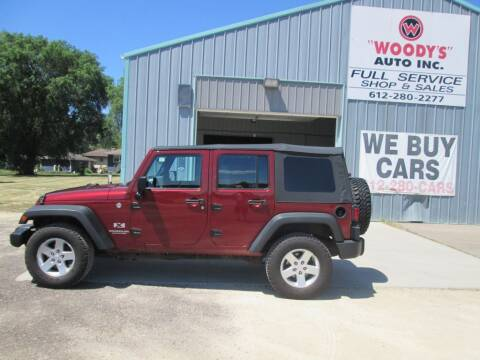 2008 Jeep Wrangler Unlimited for sale at Woody's Auto Sales Inc in Randolph MN