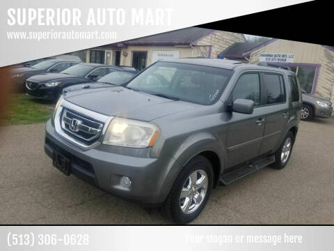 2009 Honda Pilot for sale at SUPERIOR AUTO MART in Amelia OH