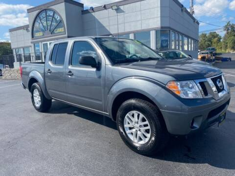 2017 Nissan Frontier for sale at AUTO POINT USED CARS in Rosedale MD