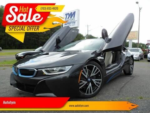 2017 BMW i8 for sale at AUTOTYM INC in Fredericksburg VA