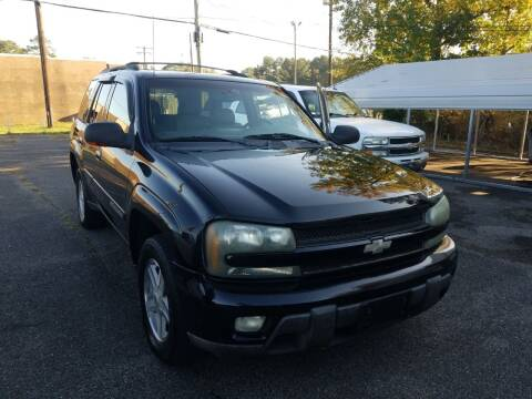 2002 Chevrolet TrailBlazer for sale at Prospect Motors LLC in Adamsville AL