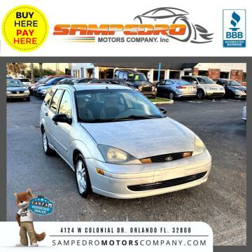2004 Ford Focus for sale at SAMPEDRO MOTORS COMPANY INC in Orlando FL