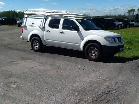 2017 Nissan Frontier for sale at Garys Sales & SVC in Caribou ME