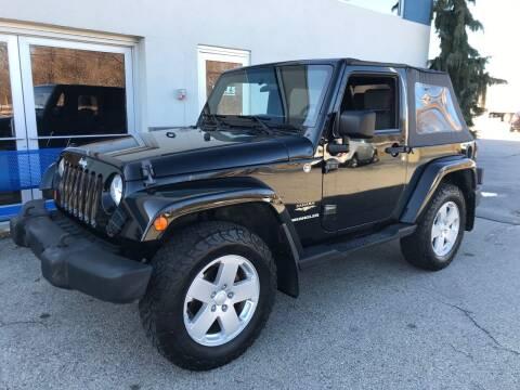 2007 Jeep Wrangler for sale at Atlantic AutoCenter in Cranston RI