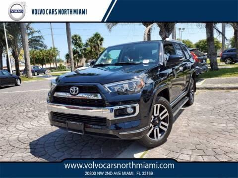 2018 Toyota 4Runner for sale at Volvo Cars North Miami in Miami FL