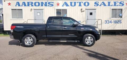 2012 Toyota Tundra for sale at Aaron's Auto Sales in Corpus Christi TX