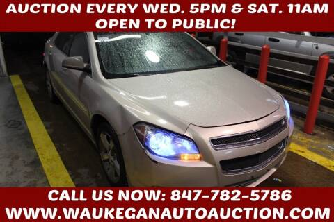 2011 Chevrolet Malibu for sale at Waukegan Auto Auction in Waukegan IL