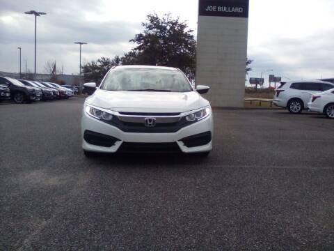 2017 Honda Civic for sale at JOE BULLARD USED CARS in Mobile AL