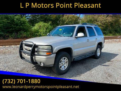 2004 Chevrolet Tahoe for sale at L P Motors Point Pleasant in Point Pleasant NJ