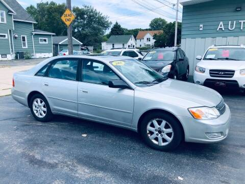 2001 Toyota Avalon for sale at SHEFFIELD MOTORS INC in Kenosha WI