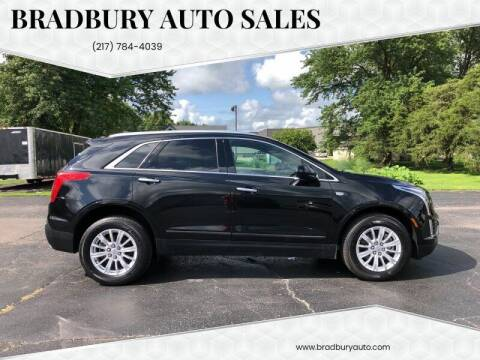 2017 Cadillac XT5 for sale at BRADBURY AUTO SALES in Gibson City IL