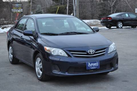 2013 Toyota Corolla for sale at Amati Auto Group in Hooksett NH