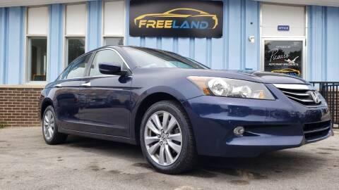 2011 Honda Accord for sale at Freeland LLC in Waukesha WI