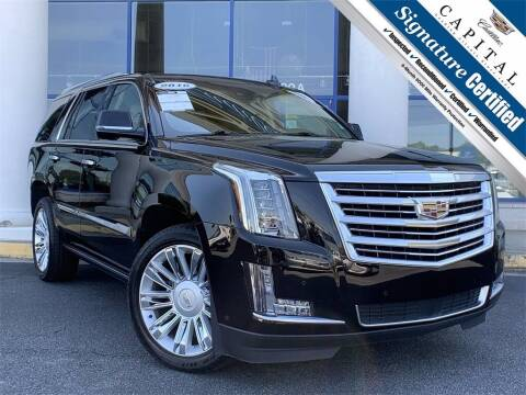 2016 Cadillac Escalade for sale at Southern Auto Solutions - Capital Cadillac in Marietta GA