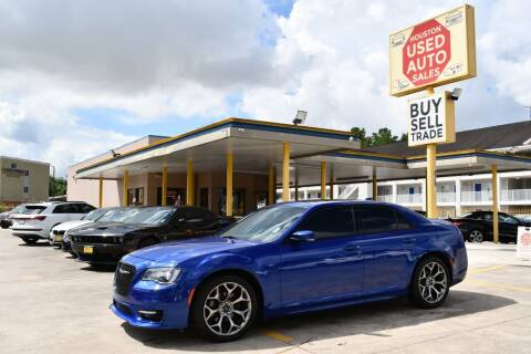2018 Chrysler 300 for sale at Houston Used Auto Sales in Houston TX