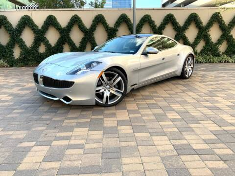 2012 Fisker Karma for sale at ROGERS MOTORCARS in Houston TX