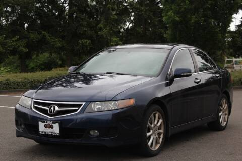 2008 Acura TSX for sale at Top Gear Motors in Lynnwood WA