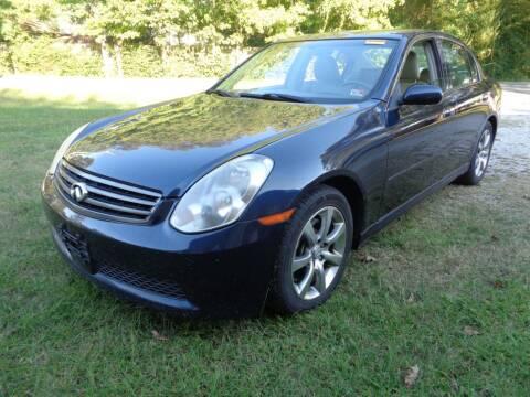 2006 Infiniti G35 for sale at Liberty Motors in Chesapeake VA