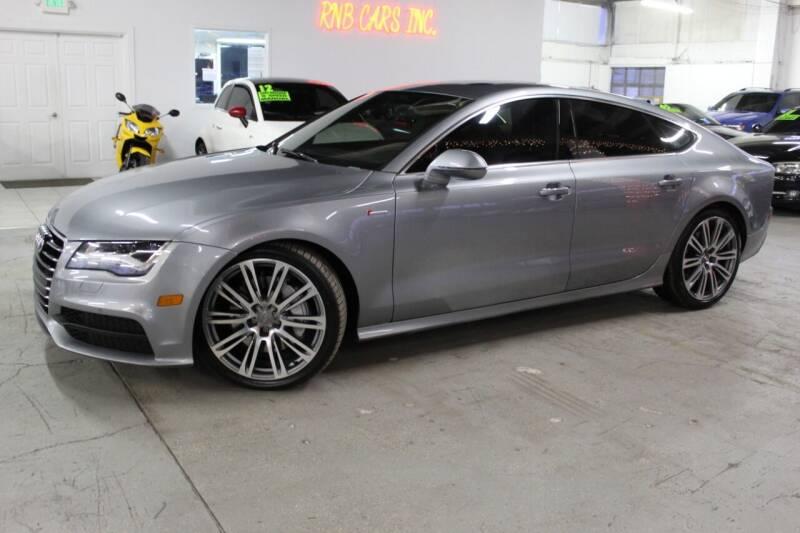 2013 Audi A7 for sale at R n B Cars Inc. in Denver CO