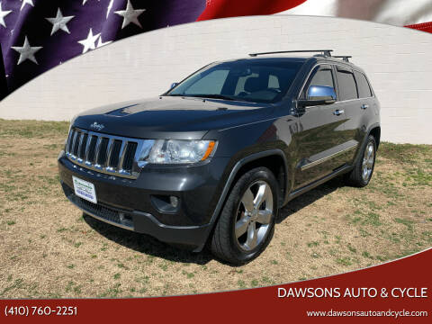 2011 Jeep Grand Cherokee for sale at Dawsons Auto & Cycle in Glen Burnie MD
