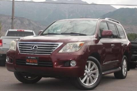 2008 Lexus LX 570 for sale at REVOLUTIONARY AUTO in Lindon UT