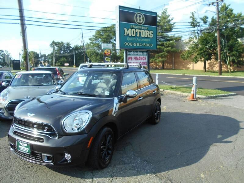 2015 MINI Countryman for sale at Brookside Motors in Union NJ