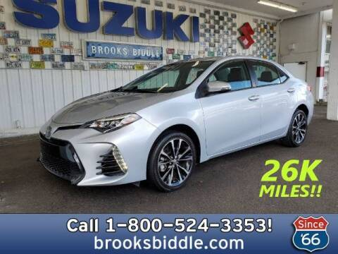 2017 Toyota Corolla for sale at BROOKS BIDDLE AUTOMOTIVE in Bothell WA