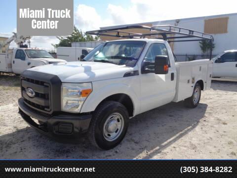 2011 Ford F-350 Super Duty for sale at Miami Truck Center in Hialeah FL
