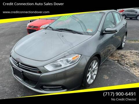 2013 Dodge Dart for sale at Credit Connection Auto Sales Dover in Dover PA