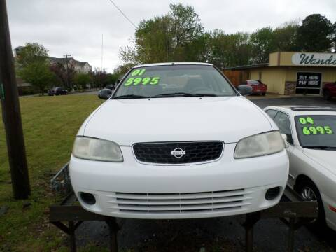 2001 Nissan Sentra for sale at Credit Cars of NWA in Bentonville AR
