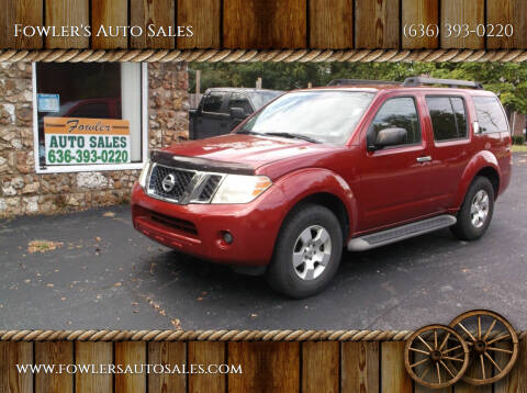 2010 Nissan Pathfinder for sale at Fowler's Auto Sales in Pacific MO