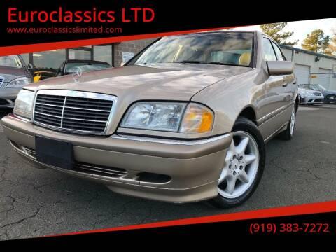 2000 Mercedes-Benz C-Class for sale at Euroclassics LTD in Durham NC