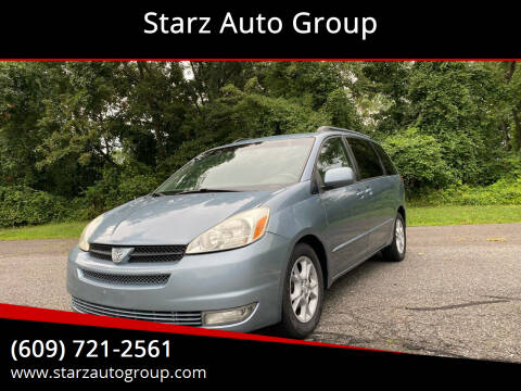 2005 Toyota Sienna for sale at Starz Auto Group in Delran NJ