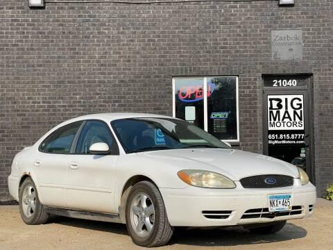 2004 Ford Taurus for sale at Big Man Motors in Farmington MN